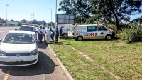 A man was injured in a pedestrian accident along the Marionhill Road  near the traffic department today. (Chris Botha, Netcare 911)