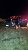 Two men were injured this evening in a two vehicle collision on the N14 between Malibongwe and Beyers Naude, Randburg. (Russel Meiring, ER24)