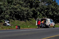 An elderly man was seriously injured after coming off his motorcycle along Marine drive in Margate. (Chris Botha, Netcare 911)