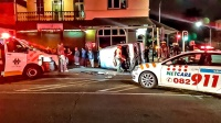A side impact accident at the intersection of Chapel and Pietermaritz Street late last night has left eight people injured. (Chris Botha, Netcare 911)