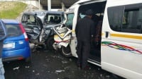 24 people were injured this morning following a four vehicle collision on the N2 highway in Langa, Western Cape. (Russel Meiring, ER24)