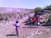 Nakuru Gioto dumping site which is located at London Ward, local residents are now demanding the dump site to be relocated to some other place.