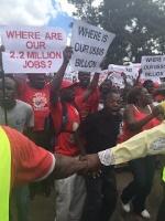 MDC Zimbabwe Demo today