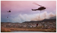 Image taken this afternoon by photographer Keith from Dreamimages…Glencairn fires