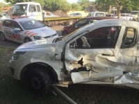 One person has been injured after two vehicles collided with each other on Swemmer street and corner 20th Avenue in Rietfontein, Pretoria. (Athlenda Mathe, Netcare 911)